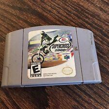 Supercross 2000 (Nintendo 64, 1999) N64 Game Cart NE5