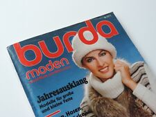 BURDA MODEN DEZEMBER 1977 MIT SCHNITTMUSTER