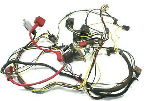 OEM JOHN DEERE LT150 MOWER MAIN WIRE WIRING HARNESS serial numbers below 40,258
