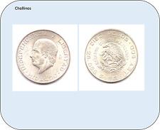 10 PESOS  DE PLATA AÑO 1956  ESTADOS UNIDOS MEXICANOS     ( MB11371 )