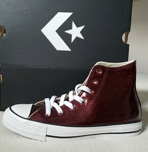 New! Converse Chuck Taylor-AS hi top sneaker-bgdy/blk/white Metal/Xmas Gift Idea