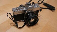Minolta SRT100X Spiegelreflexkamera mit Originaltasche und Objektiven