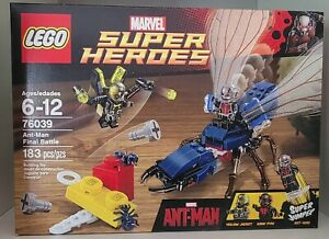 Lego 76039 Marvel Ant-Man Final Battle Set New in Box