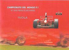 2000 Folder Gran Premio di San Marino Imola Grand Prix Formula 1 CATALOGO U. 11
