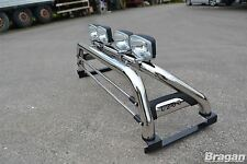 To Fit 2015+ Mitsubishi L200 Stainless Steel Sport Roll Bar 4x4 Accessories