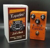 "Expandora ""Squared"" Overdrive - Distortion - Fuzz Pedal."