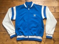 Vintage Adidas Originals Varsity Jacket. 2002 Blue & White. Size: L Adult. VGC