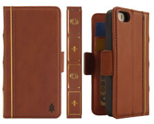 For iPhone 5 - 5S - SE- Holy Bible Book Style Old Vintage Card Wallet Case Cover