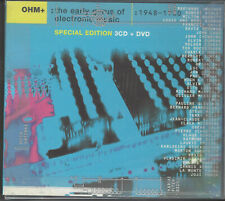 OHM+ The Early Gurus Of Electronic Music Box Set 3 Cds/DVD/112page book