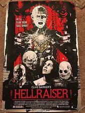 James Rheem Davis Clive Barker Hellraiser Movie Art Print Poster Mondo Pinhead