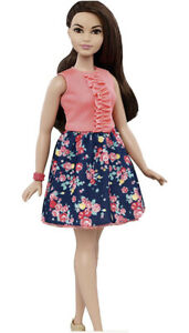 Barbie Fashionistas 26 Curvy Spring Into Style New Boxed Uk Seller 🇬🇧 Brunette