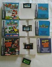 Gameboy Advance Spiele | Super Mario World / Donkey Kong/Advance | Warioland 4
