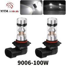 YITAMOTOR 9006 HB4 High Power 2323 100W Led Fog Light Bulbs Driving DRL Lights