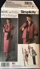 1950s Vintage Dress & Coat Pattern - Multi Size 6 - 22