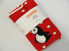 Gymboree Winter Penguin Girls Size 3 4 Tights NEW