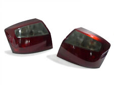 DEPO Dark Red / Smoke Rear Tail Light Pair For 2002-2005 Audi A4 S4 B6 4D Sedan
