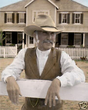 """ROBERT DUVALL AUGUSTUS McCRAE LONESOME DOVE 1989 8X10"""" HAND COLOR TINTED PHOTO"""