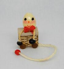 Vintage Humpty Dumpty Nursery Pull Toy Dollhouse Miniature 1:12