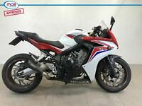 Honda CBR 650F Red White 2015 Spare or Repair Restoration Project Damaged