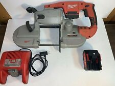 Milwaukee 0729-20 Heavy Duty Cordless Band Saw with charger and battery