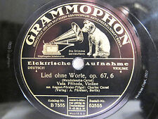 78rpm VASA PRIHODA Violin - MENDELSSOHN Song Without Words + SCHUMANN Traumerei