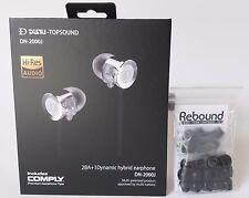 DUNU DN-2000J with Jumbo Rebound Memory Foam Ear Tips Bundle
