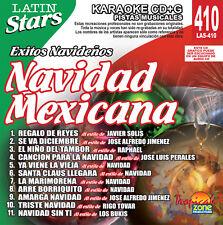 Karaoke Latin Stars 410 Navidad Mexicana Vol.1