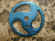 BMX PROFILE Aluminum Dark BLUE COOL Series NOS CHAIN RING 40t Sprocket