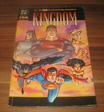 JLA Gerechtigkeitsliga Sonderband 18 Kindom Dino DC Comic 2000 Superman Batman