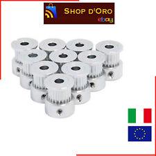 Puleggia GT2 16 denti in aulluminio Ø 5mm 16 teeth pulley aluminum - pulegge 3D