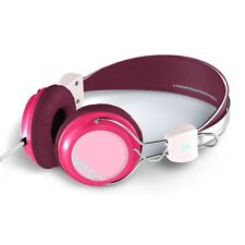 cuffia WESC BONGO seasonal burgundy no oboe per DJ iPod iPhone USB player NUOVA