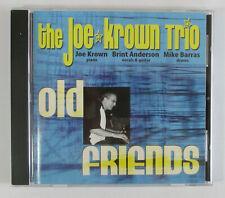 The Joe Krown Trio OLD FRIENDS CD Brint Anderson, Mike Barras