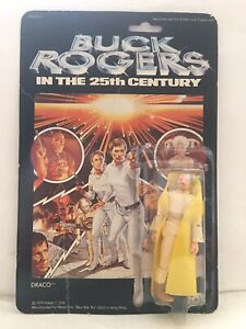 Buck Rogers In The 25th Century Draco 1979 MEGO Sealed Card Vintage