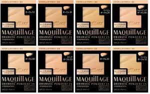 Shiseido Maquillage Dramatic Powdery EX UV Foundation Refill SPF25 PA+++ Japan
