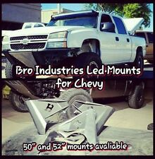 "99 - 13 silverado 50"" curved  led light bar mounts"