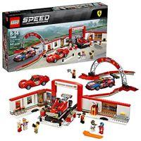LEGO Speed Champions Ferrari Ultimate Garage 75889 Building Kit (841 Piece)