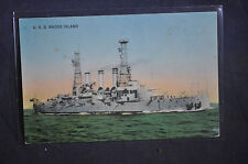 1908 USS Battleship New Hampshire Postcard