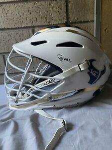 STX Rival lacrosse helmet L/XL white lax schutt