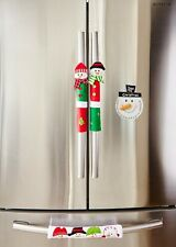ienjoyware Snowman Kitchen Appliance Refrigerator Handle Door Covers & Snowman