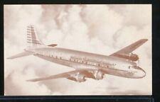BRANIFF INTERNATIONAL AIRWAYS 1940s DC-6 Braniff-Liner Intro Postcard