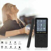 64GB MP3 MP4 Spieler HiFi Bass Musik Player FM Radio LCD Display mit Headset