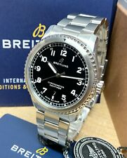 Breitling Navitimer 8 Automatic 41mm Black Dial A17314 2021 UNWORN