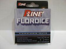 P-Line Floroice Fluorocarbon ice fishing line choose your lb test! Nip