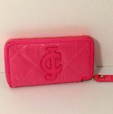 Juicy couture Nylon Zip Wallet pink New**