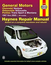 Reparaturanleitung Chevy Venture / Pontiac Trans Sport 97 - 04