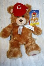 RARE Build a Bear Cincy Chicago Reds Great American Insurance 14 inch