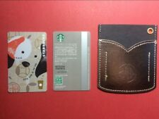 CS1801 2018 China Starbucks coffee Year of The Dog card 1pc with Silver sleeve