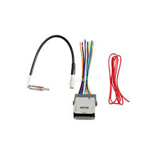 Car Aftermarket Radio Install Cable& Antenna Adapter for Chevy Silverado Express
