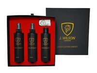 J Wilson Leather Care Kit Cleaner Protector Nourisher Care Conditioner Maintain