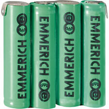 Emmerich 255053 NiMH AAA 4.8V ZLF 800mAh 4-Cell Rechargeable Battery Pack